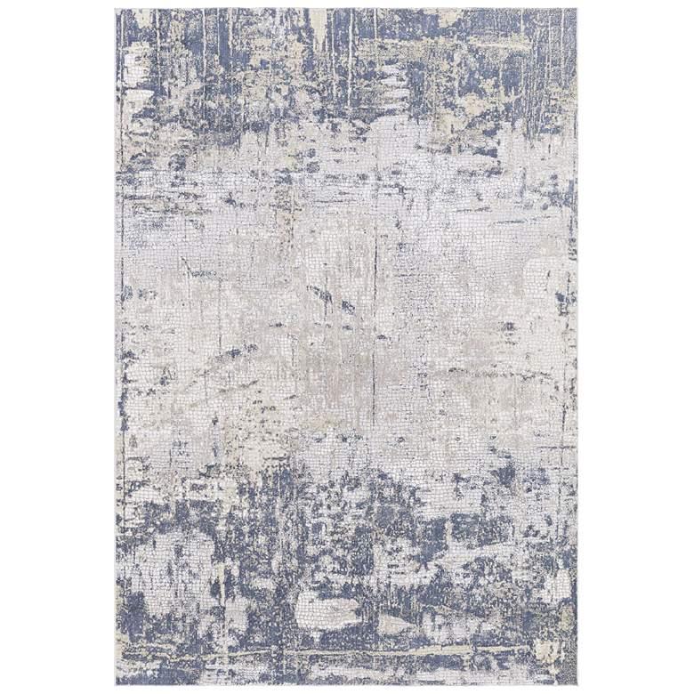 Uttermost Hamida 5'x8' Indigo Abstract Area Rug