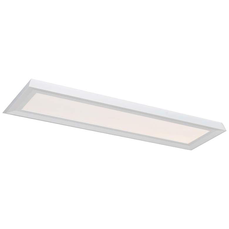 """Zurich 51"""" Wide White LED Ceiling Light"""