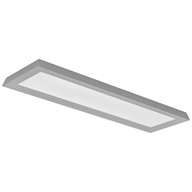"Zurich 51"" Wide Satin Nickel LED Ceiling Light"