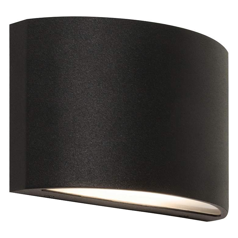 "Colton 4 1/4"" High Black Wall Wash LED"