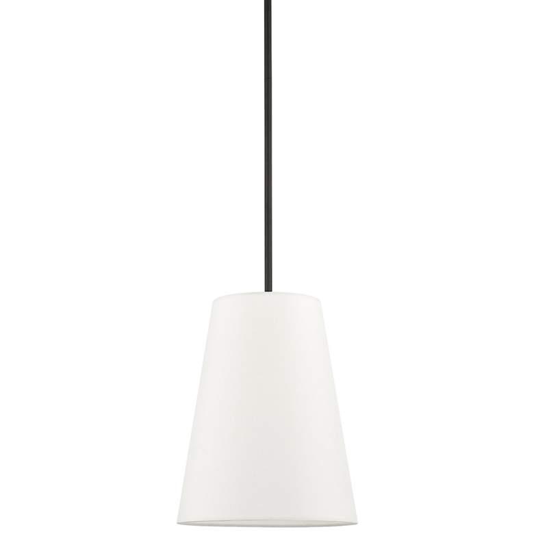 "Prato 11"" Wide Black Mini Pendant Light"