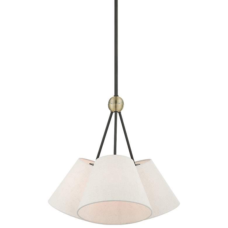 "Venlo 21"" Wide Bronze 3-Light Pendant Light"