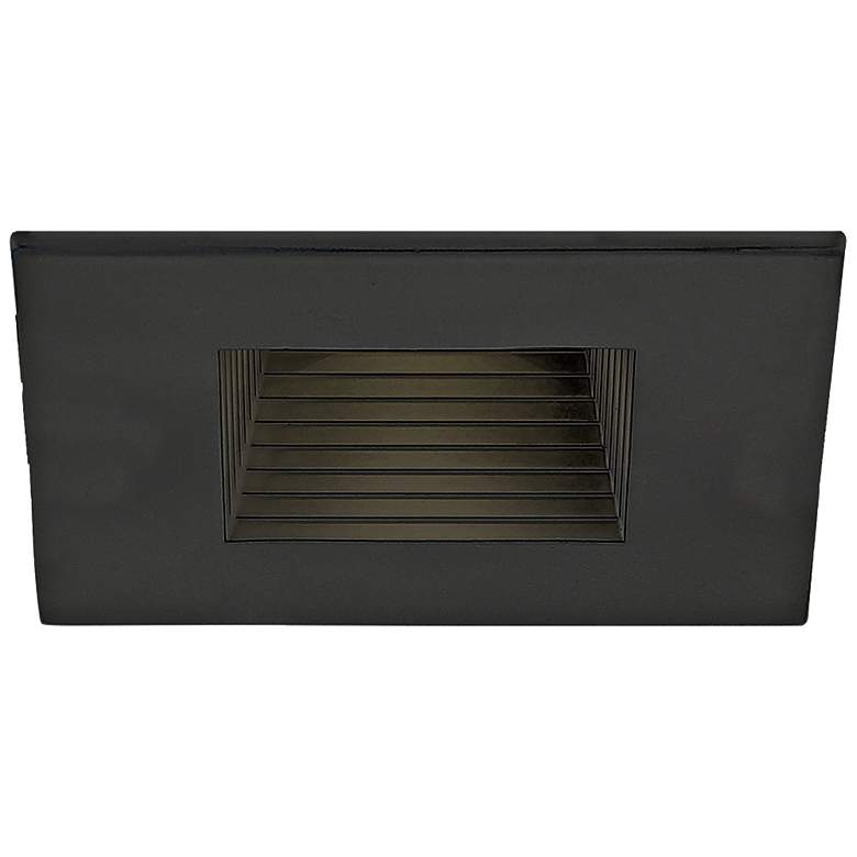 "Eurofase 2 1/2"" Black LED Square Baffle Recessed"