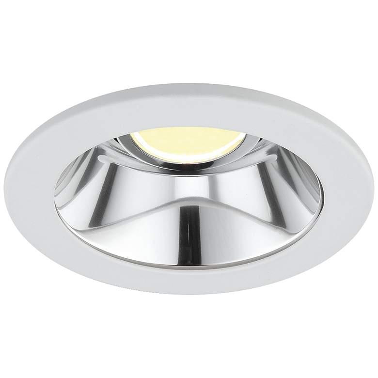 "Eurofase 3 1/2"" Chrome-White LED Specular Recessed Downlight"