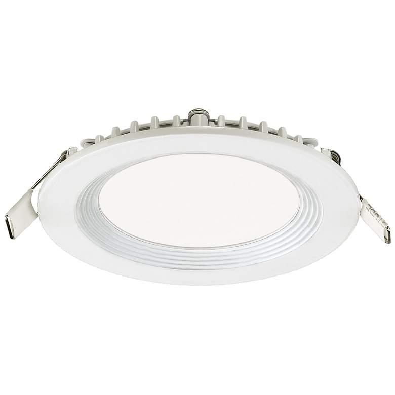 """Eurofase 4"""" White LED Round Ribbed Baffle Recessed"""
