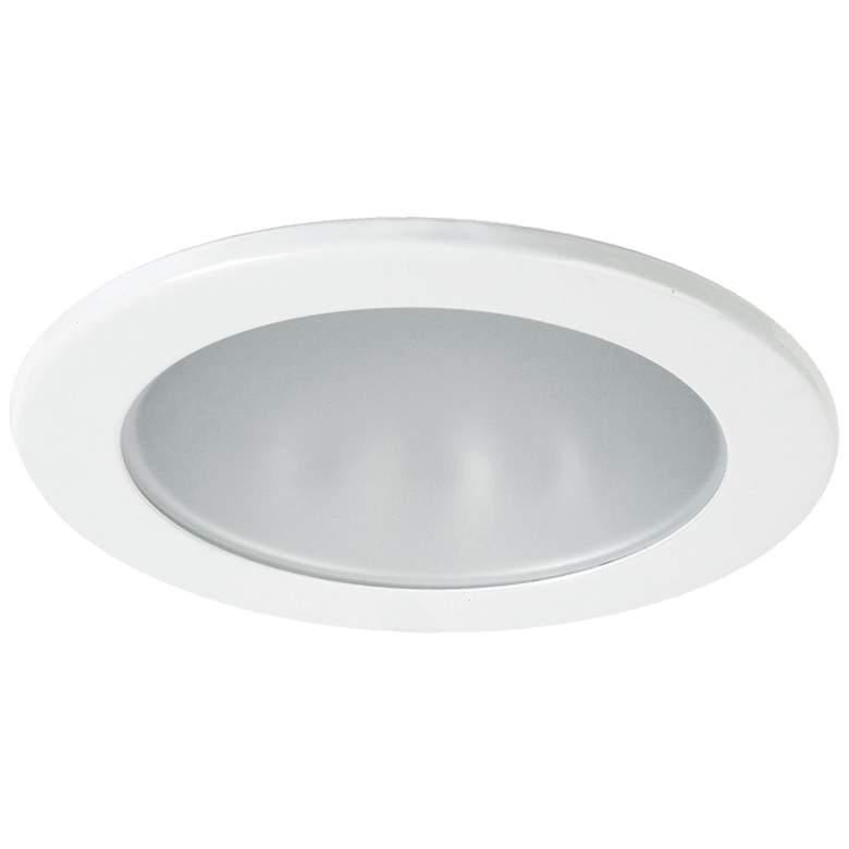 "Eurofase 3 1/2"" White LED Shower Recessed Downlight"