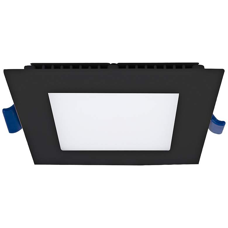 "Eurofase 4"" Black LED Ultra Slim Square Recessed Downlight"