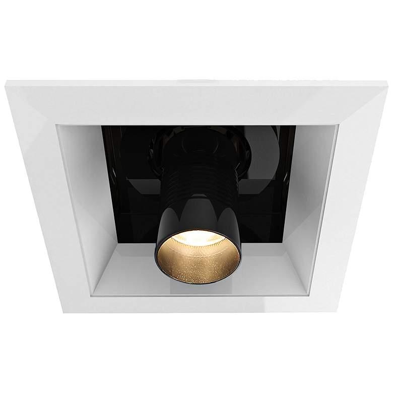 "Eurofase 6"" White-Black LED Multiple Pulldown Recessed Trim"