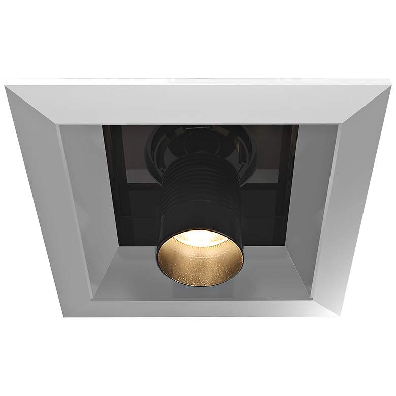 "Eurofase 6"" Platinum-Black LED Multiple Pulldown Downlight"