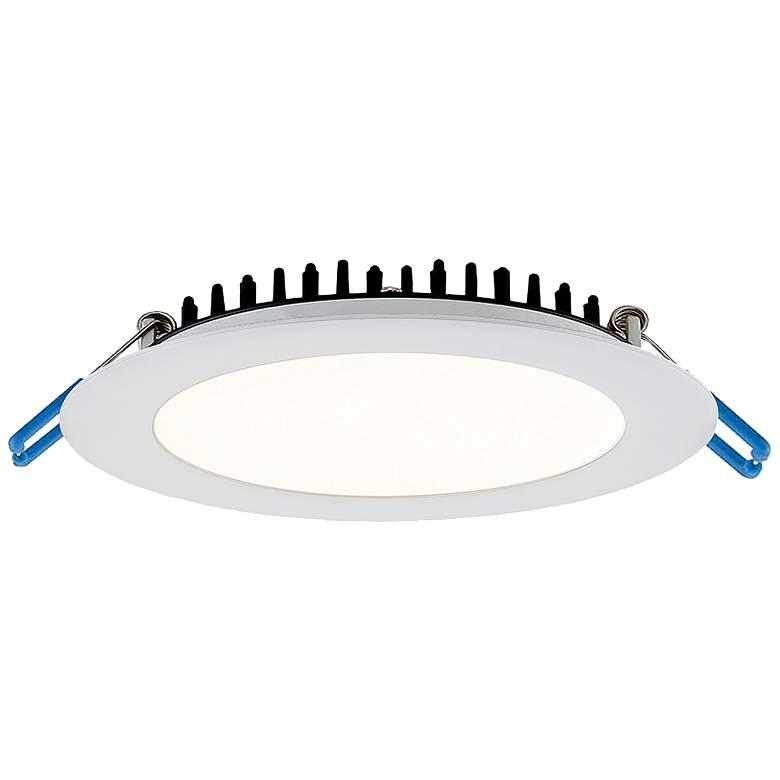 "Eurofase 6"" White LED Ultra Slim Round Recessed"