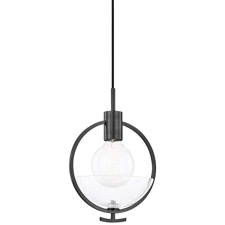 "Mitzi Ringo 8 3/4"" Wide Old Bronze Mini Pendant Light"