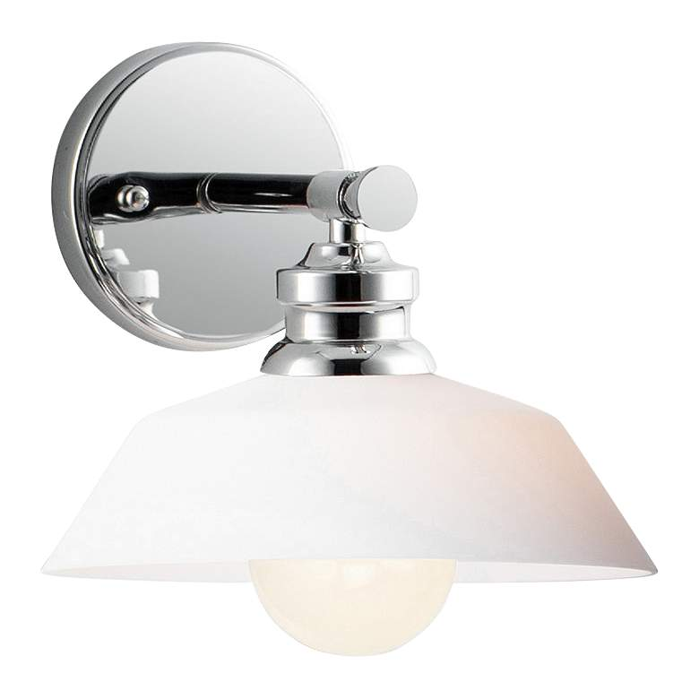"""Maxim Willowbrook 7 3/4"""" High Polished Chrome Wall Sconce"""
