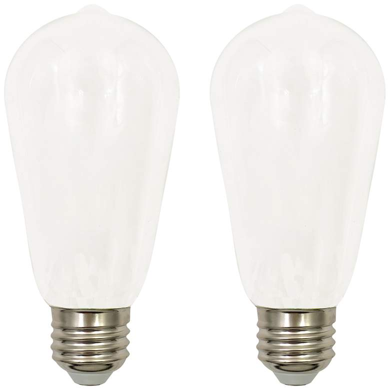 40W Equivalent Milky 4W LED Dimmable Standard ST19