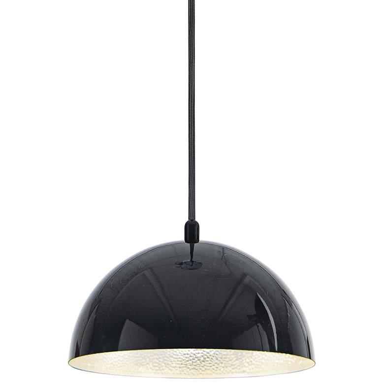 "ET2 Hemisphere 9"" Wide Gloss Black LED Mini"