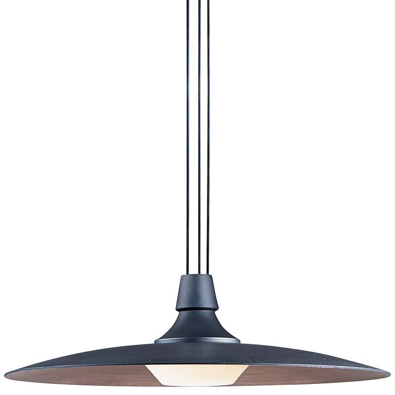 "ET2 Raven 17 3/4"" Wide Black LED Pendant"