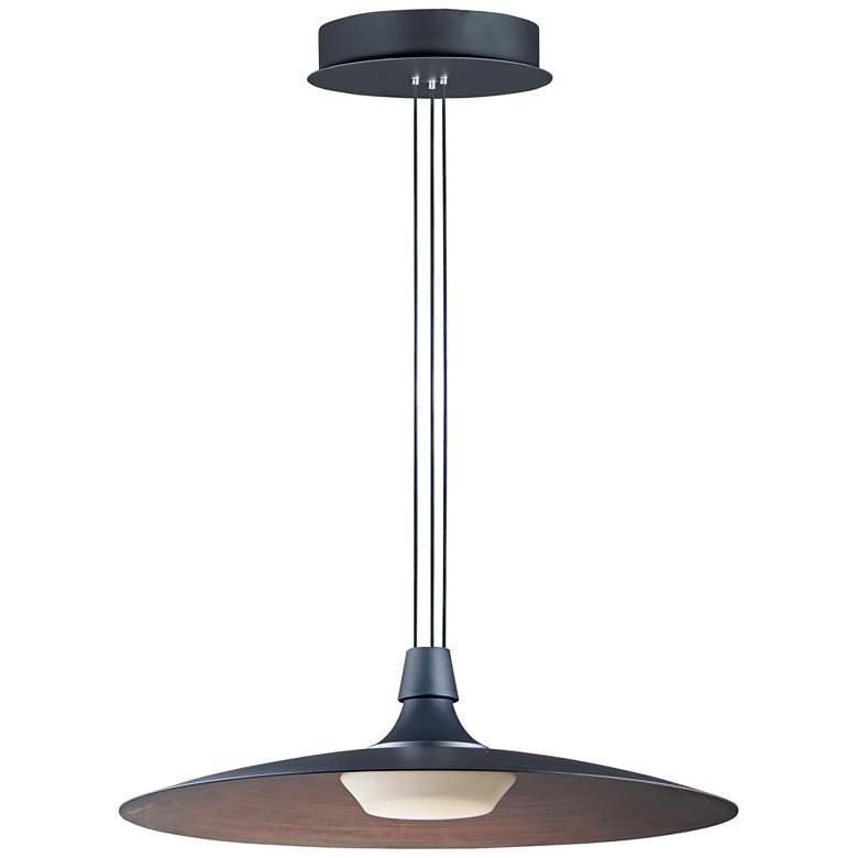 "ET2 Raven 23 1/2"" Wide Black LED Pendant Light"