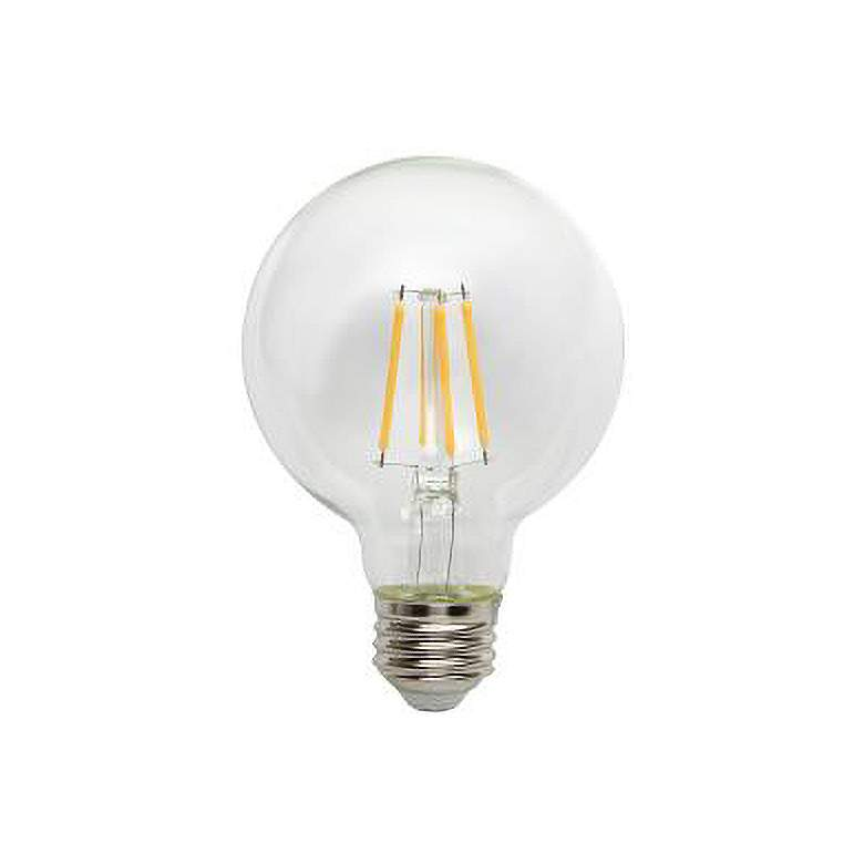 60W Equivalent Tesler Clear 4.5W LED Dimmable Standard G25