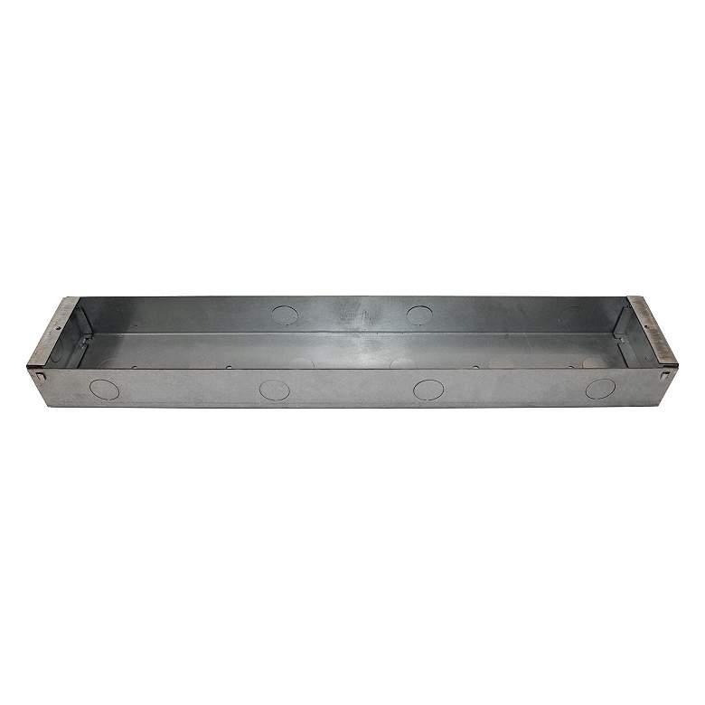 "19""W Galvanized Steel Indoor Back Box for Bristol"