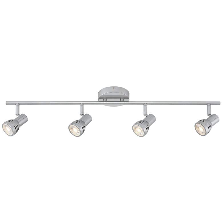 Pro Track® LED 4-Light Silver Finish LED Track Kit