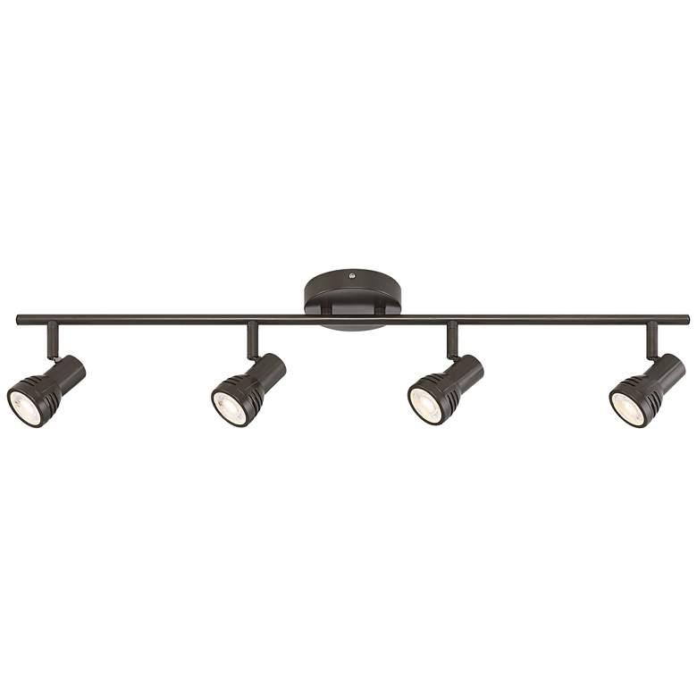 Pro Track® LED 4-Light Bronze Finish LED Track Kit