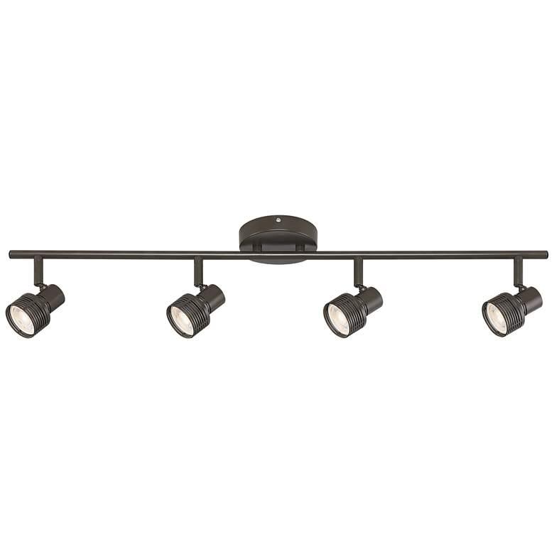 Pro Track® 4-Light  LED Track Light in Bronze