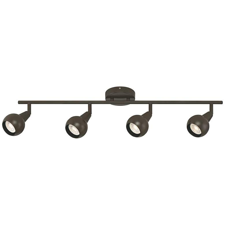 Pro Track® 4-Light Bronze LED Track Fixture