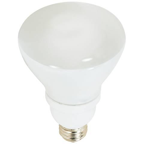 Satco 15 Watt BR30 CFL Reflector Light Bulb