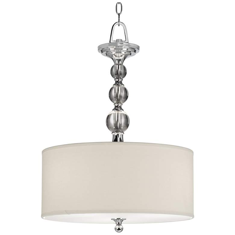 """Downtown Collection 17"""" Wide Pendant Chandelier"""