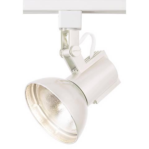 WAC White Track Light Bullet for Lightolier Track Systems