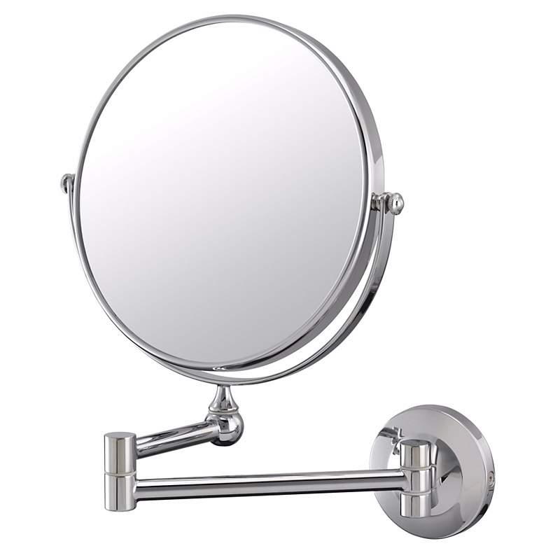 Aptations Chrome Pivot Arm Vanity Wall Mirror