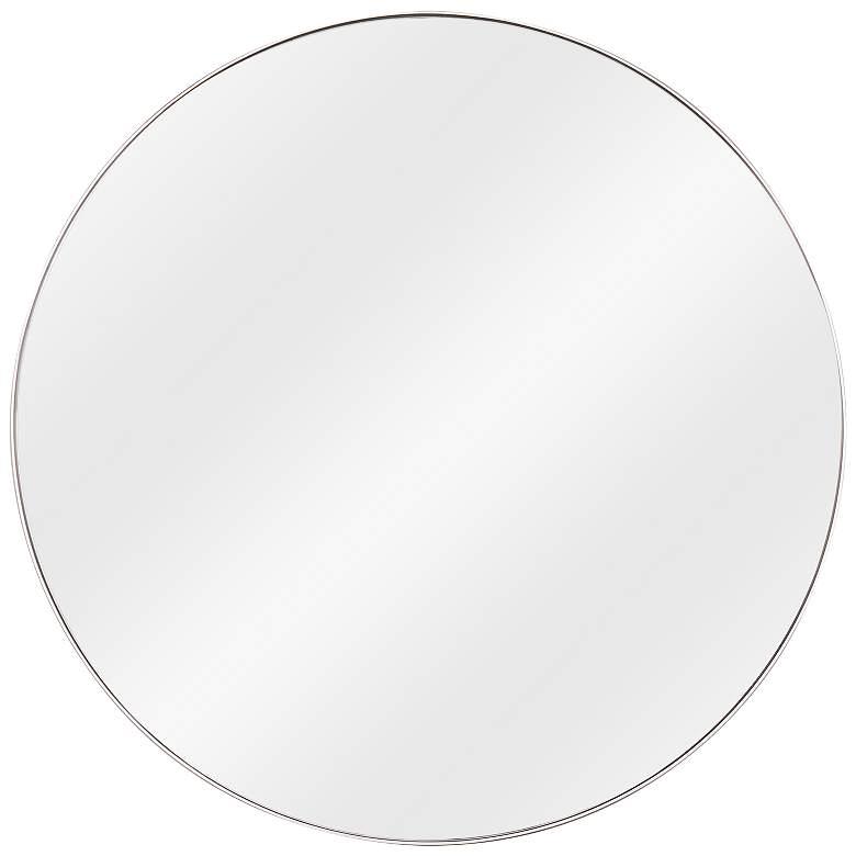 "Cooper Classics Franco Silver Metal 34"" Round Wall Mirror"