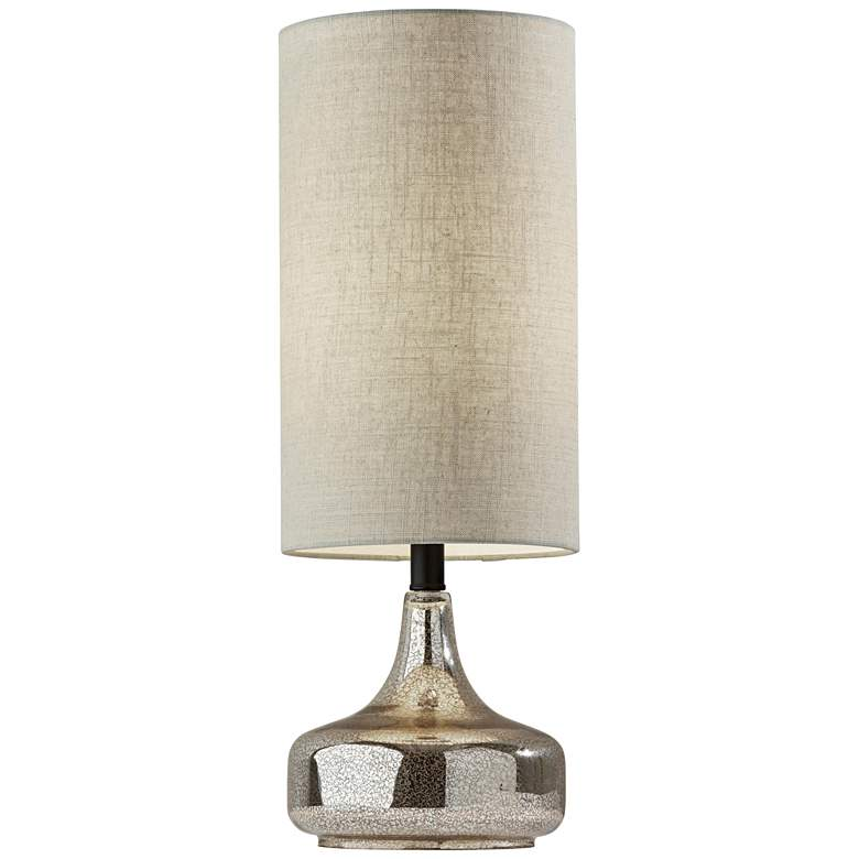 Cassandra Cracked Mercury Glass Accent Table Lamp