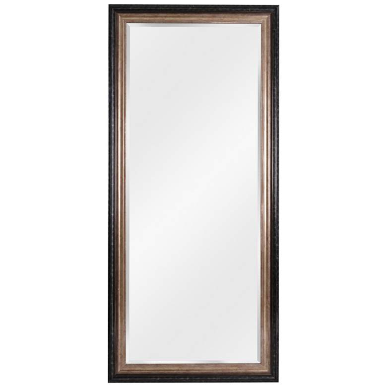 """Kenroy Home Lyonesse Black and Gold 30"""" x 66"""" Wall Mirror"""