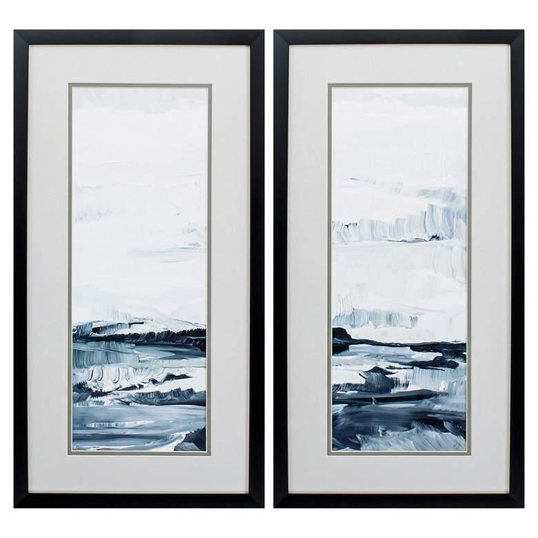 "Freedom Of The Sea 25"" High 2-Piece Framed Wall Art Set"
