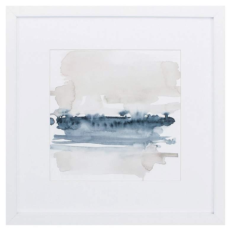 "Earth Horizon IV 27"" Square Framed Wall Art"
