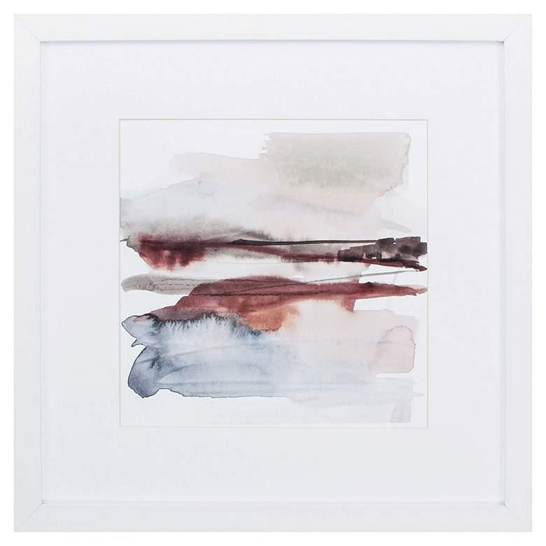"Earth Horizon VI 27"" Square Framed Wall Art"