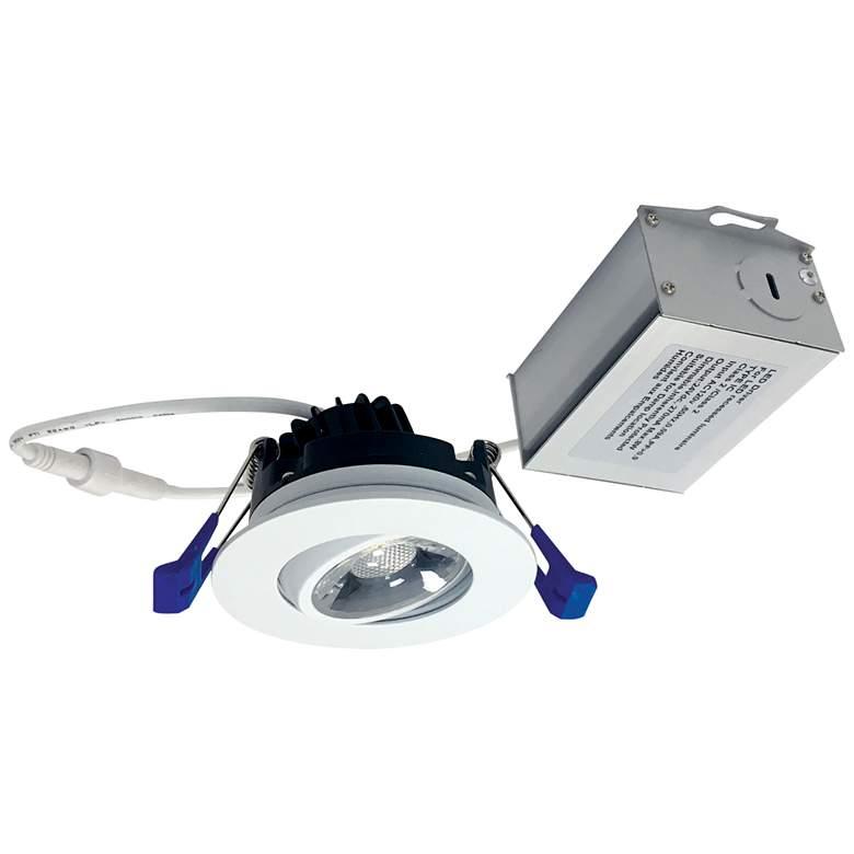 "M2-Series 2"" Matte Powder White 600lm LED Gimbal"