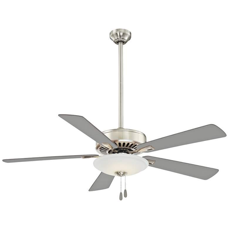 "52"" Minka Aire Uni-Pack Polished Nickel LED Ceiling Fan"