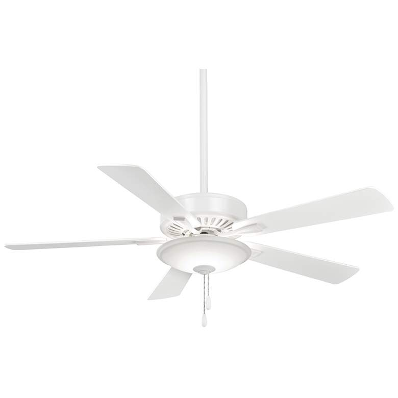 """52"""" Minka Aire Contractor Uni-Pack White LED Ceiling Fan"""