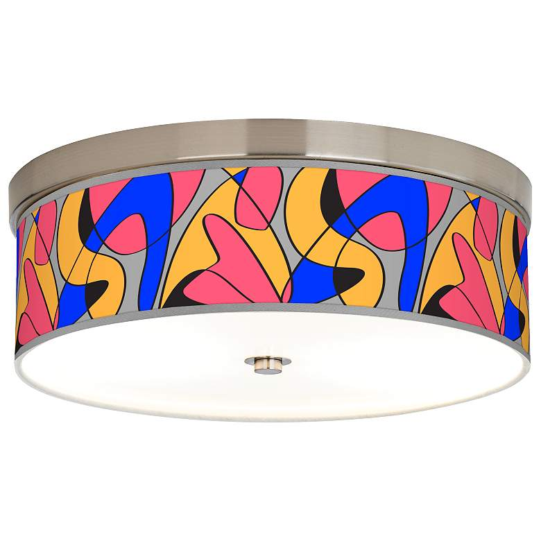 Pop Modern Giclee Energy Efficient Ceiling Light