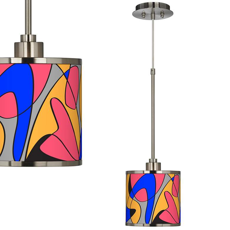 Pop Modern Giclee Glow Mini Pendant Light