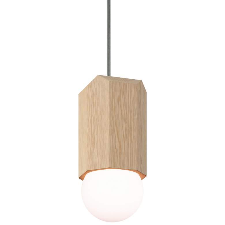 """Cerno Bimar 5 1/2""""W White Washed Oak LED"""