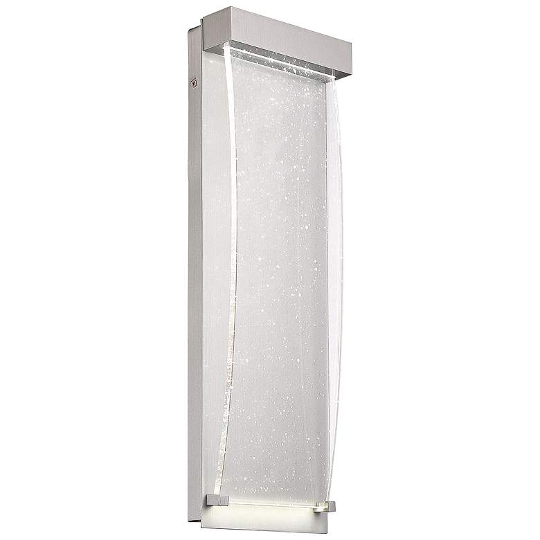"""Eurofase Outdoor 20"""" High Brushed Silver LED Wall"""
