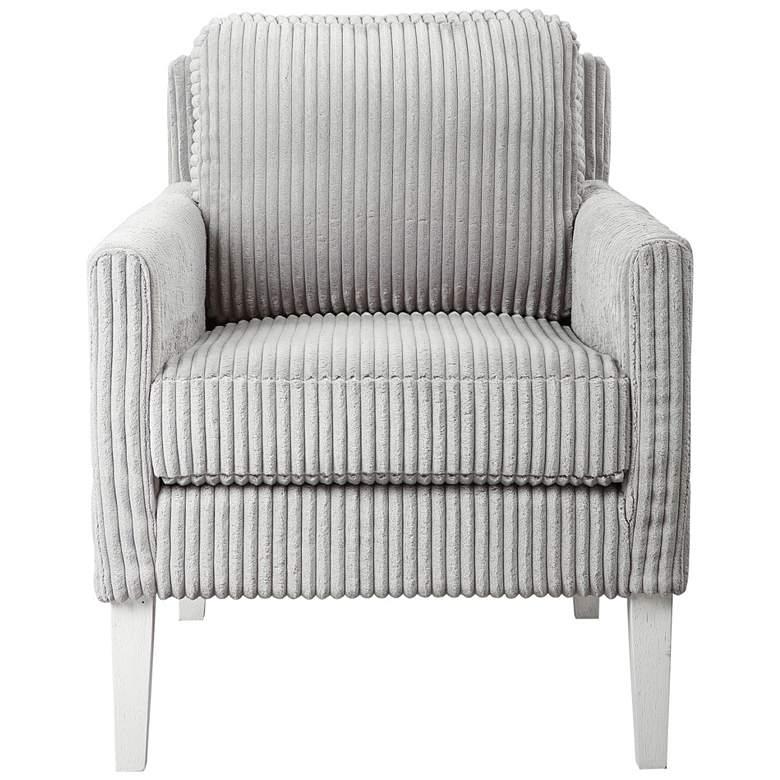 Uttermost Cavalla Steel Gray Accent Chair