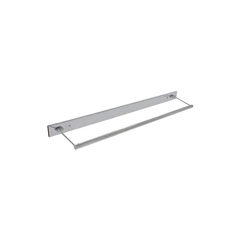 """Mendon 47"""" Wide Chrome Direct Wire LED Picture Light"""