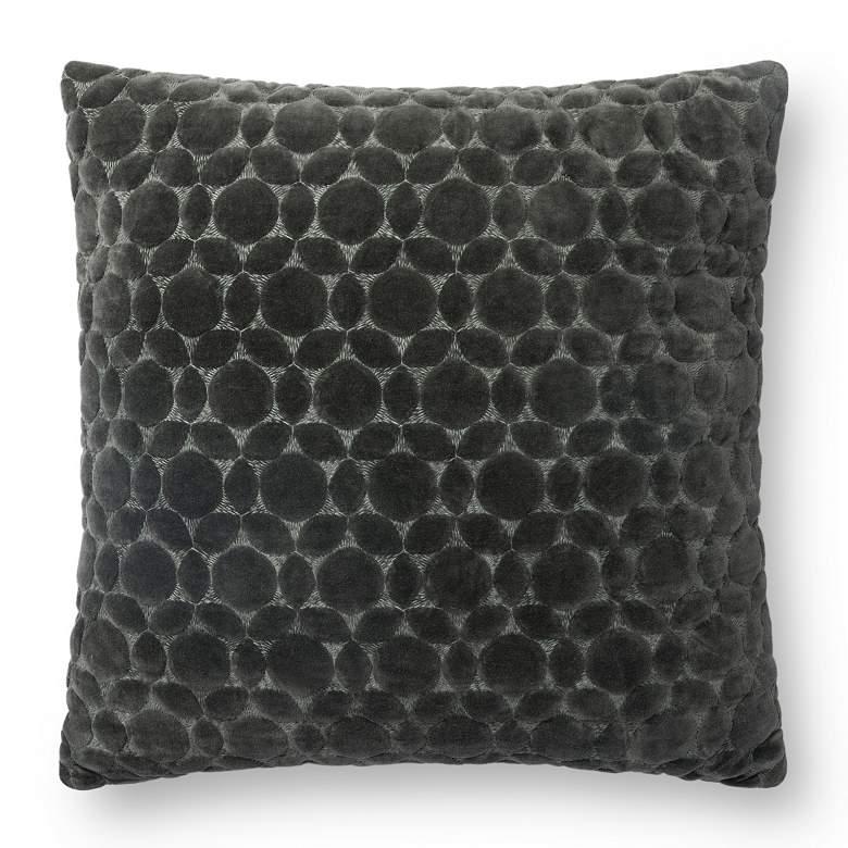 "Loloi Storm Geometric 18"" Square Throw Pillow"