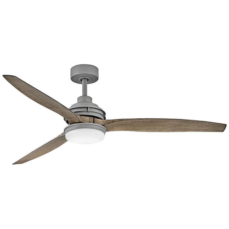 """60"""" Hinkley Artiste Graphite LED Wet-Rated Ceiling Fan"""