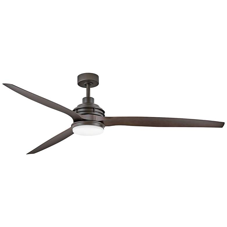 "72"" Artiste Metallic Matte Bronze LED Wet-Rated Ceiling Fan"