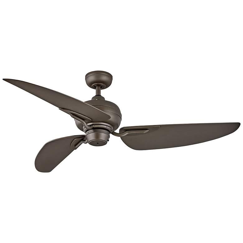 """60"""" Hinkley Bimini Metallic Matte Bronze Wet Ceiling Fan"""