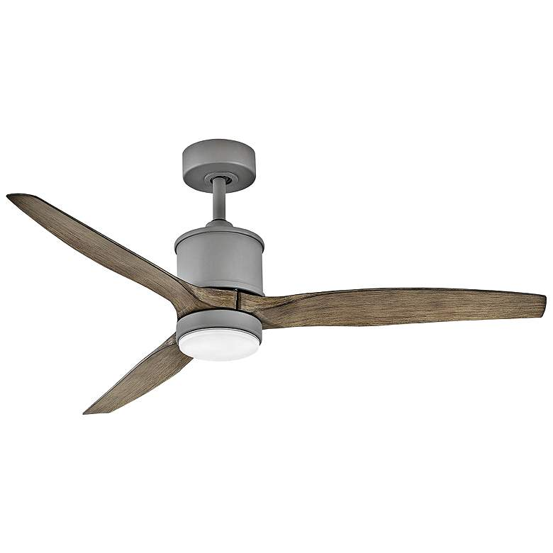 """52"""" Hinkley Hover Graphite Wet Rated LED Ceiling Fan"""